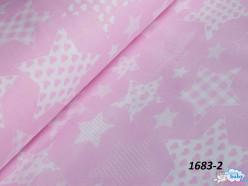 Звездочки на розовом 2