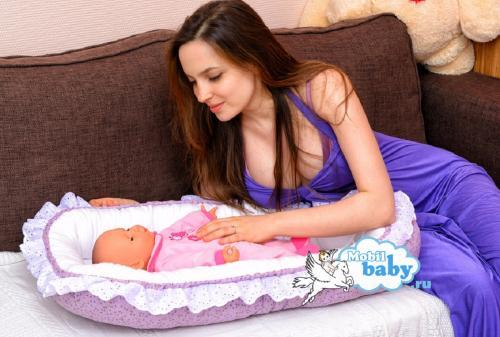 гнездышко для новорожденного радость